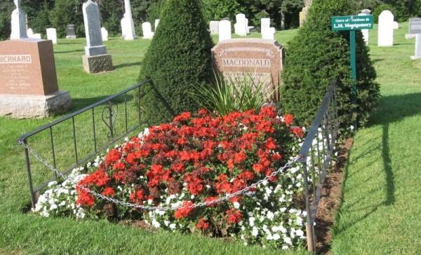Gravesite of LMM