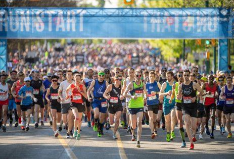 BMOマラソン(2019 BMO Vancouver Marathon, Half Marathon)