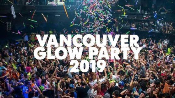 バンクーバーグロウパーティー(Vancouver Glow Party) 2019 @ Republic Nightclub | Vancouver | British Columbia | カナダ