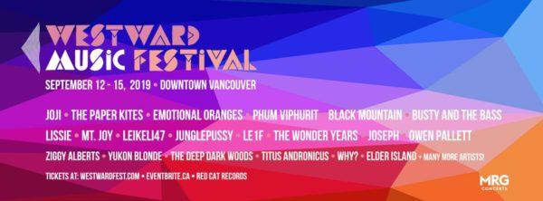 ウエストワード・ミュージック・フェスティバル(Westward Music Festival)2019 @ バンクーバー各地