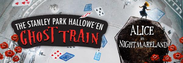 スタンレーパーク・ゴーストトレイン(Ghost Train in Stanley Park) 2019 @ Stanley Park