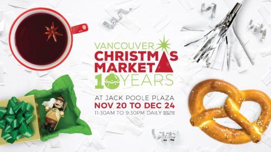 バンクーバークリスマスマーケット(Vancouver Christmas Market)2019 @ JACK POOLE PLAZA | Vancouver | British Columbia | カナダ