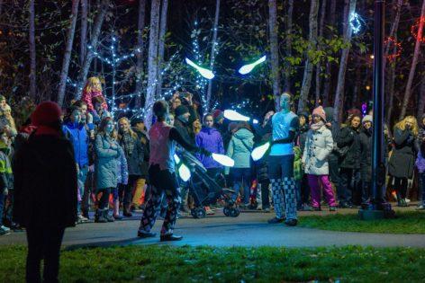 Lights at Lafarge Kick-off Event & Fire Show @ Lafarge Lake   Coquitlam   British Columbia   カナダ