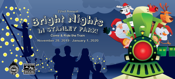ブライトナイツ(Bright Nights Christmas Train in Stanley Park)2019 @ Stanley Park