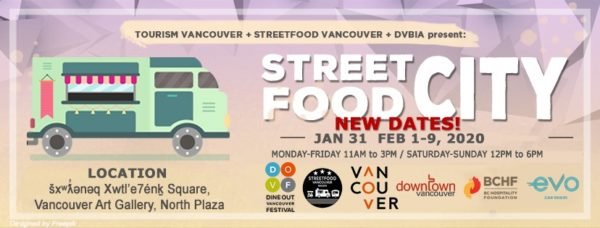 ストリート・フード・シティ(Street Food City)2020 @ Vancouver Art Gallery North Plaza