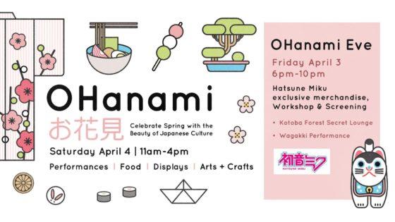 お花見(O Hanami) 2020 @ Nikkei National Museum & Cultural Centre