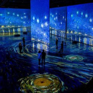 デジタルアート展 Imagine Van Gogh @ Vancouver Convention Centre