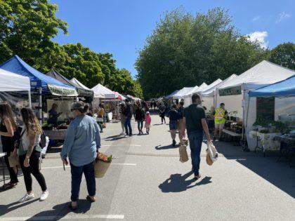 トラウトレイクファーマーズマーケット(Trout Lake Farmers Market) 2021 @ Trout Lake | Vancouver | British Columbia | カナダ