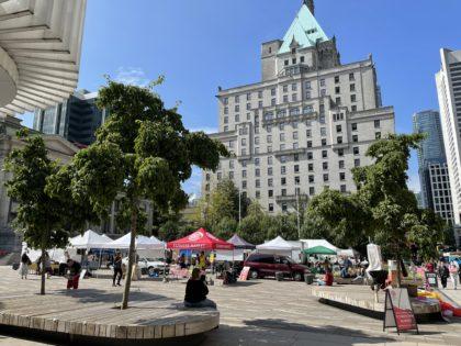 ダウンタウンファーマーズマーケット(Downtown Farmers Market) 2021 @ Vancouver | British Columbia | カナダ