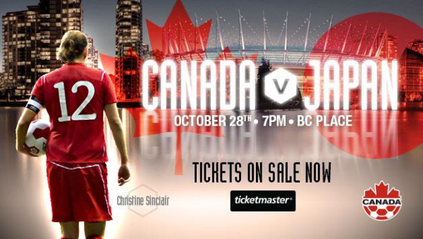 canada vs japan oct 28 th